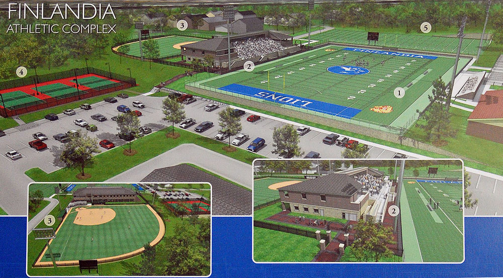 Finlandia University New Additions Planned City Of